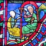 Denys s'informe auprès du philosophe Apollophane sur les ténèbres du Vendredi Saint