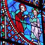 Le Christ remet à Saint Pierre les clés du Royaume des Cieux