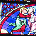 Pierre et Paul se disent adieu avant leur supplice