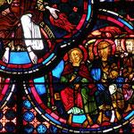 Six Apôtres recoivent l'Esprit