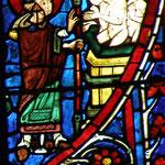 Saint Nicolas fait sortir du saloir les trois jeunes gens assassinés