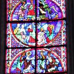 Vitrail de St Pierre et St Paul
