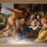 Adoration des Bergers (sous l'orgue)