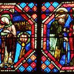 Ancêtres ou parents du Christ (Joachim et Anne)