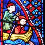 Marie traverse le Jourdain