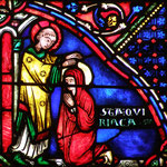 Il guérit Quiriace, une pieuse veuve