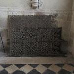 Anciennes grilles du chœur (identiques à celles du Foyer St François, rue Joyeuse à Bourges)