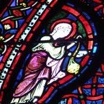 Un ange encence Lazare et Abraham