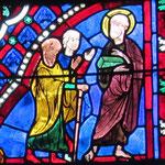 Saint Paul quitte l'aéropage après la réaction de rejet des Athéniens