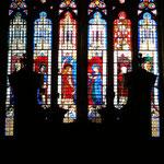 L'Annonciation et les saints fondateurs de l'église de Bourges offerts par Jacques Cœur (milieu XVe)