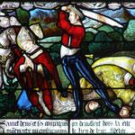 Il est décapité avec ses deux disciples sur la Butte Montmartre