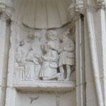 Adoration des Bergers -  Écoinçon façade ouest - portail de la vierge