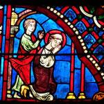 Martin ordonné exorciste par St Hilaire