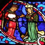Salomé présente la tête à sa mère