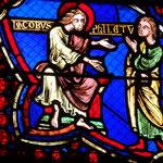 Philetus demande protection à St Jacques (refait en 1848)