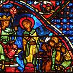 A Décius qui lui demande les trésors de l'Église, Laurent présente les pauvres