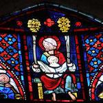 Marie dans le sein d'Abraham