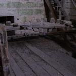 La symandre de 1571 avant la réalisation des copies lorsqu'elle était conservée dans une pièce de la tour nord