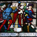 Denis arrive à Lutèce comme évangélisateur, le gouverneur romain Fescennius le fait arréter