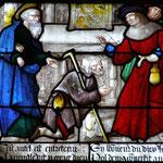 Denis de retour à Athènes rencontre St Paul qui lui fait guérir un aveugle