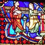 Hermogène envoie son disciple Philetus vers St Jacques pour le convertir au paganisme (refait en 1848)