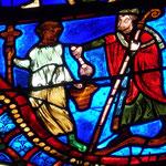 St Ambroise assiste aux funérailles de Martin