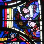 Les anges assistent à la mort de Jésus