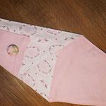 Scherenhülle Rosa Muster