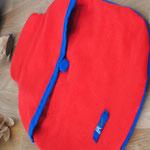 Wärmflaschen-Hülle, Rot groß