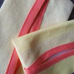 Taschentuch-Hülle Gelb Uni