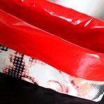 Stoffkorb, abwaschbar Muster Marilyn, Groß