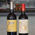 ワインは、グラス・デキャンタ他、ボトルを取り扱っております。