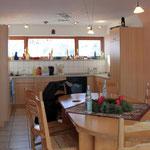 Die Küche im blauen Haus