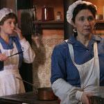 cuisinière Odile et cuisinière Marie
