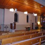 Kirchenbeschallung geflogen Deckenmontage