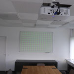Projektor mit Testbild