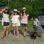 夏休み子どもキャンプ・民泊