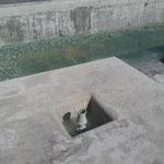 fuente ornamental remodelada