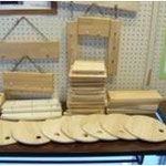 ~好評!手作り木工品~