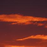 Nuages au coucher de soleil