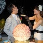 結婚式当日-披露宴(洋装)ヘッドピース-