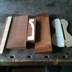 Erster Schritt: passendes Holz zum Modell aussuchen.