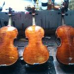 Drei Neubauinstrumente aus meiner Werkstatt-