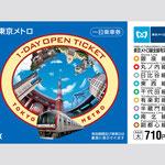 東京メトロ 企画券