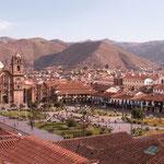 Die schöne Kolonialstadt Cuzco