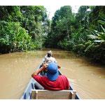 Bootsfahrt in den Dschungel