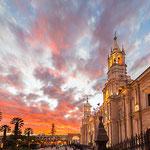 Die schöne weiße Stadt Arequipa