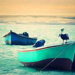 Fischerboote in Puerto Inca