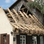 Dachstuhlerneuerung und Innenausbau Wohngebäude