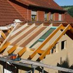 Wohnraumerweiterung mit Anbau